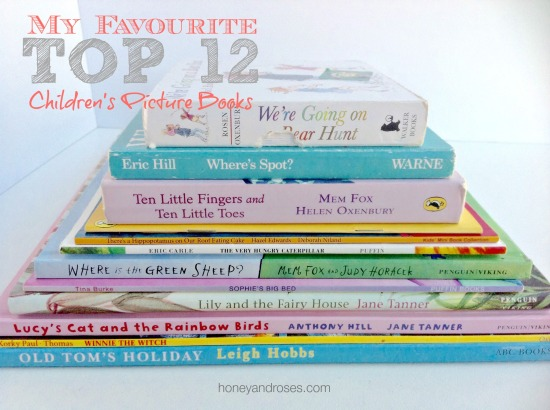 My Favourite Top 12 Children's Picture Books