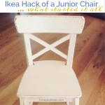 Ikea Hack of a Junior Chair