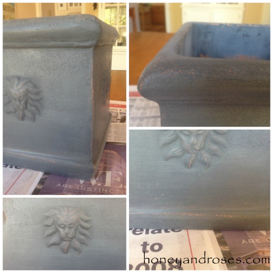 How to Paint a Garden Pot using Chalk Paint