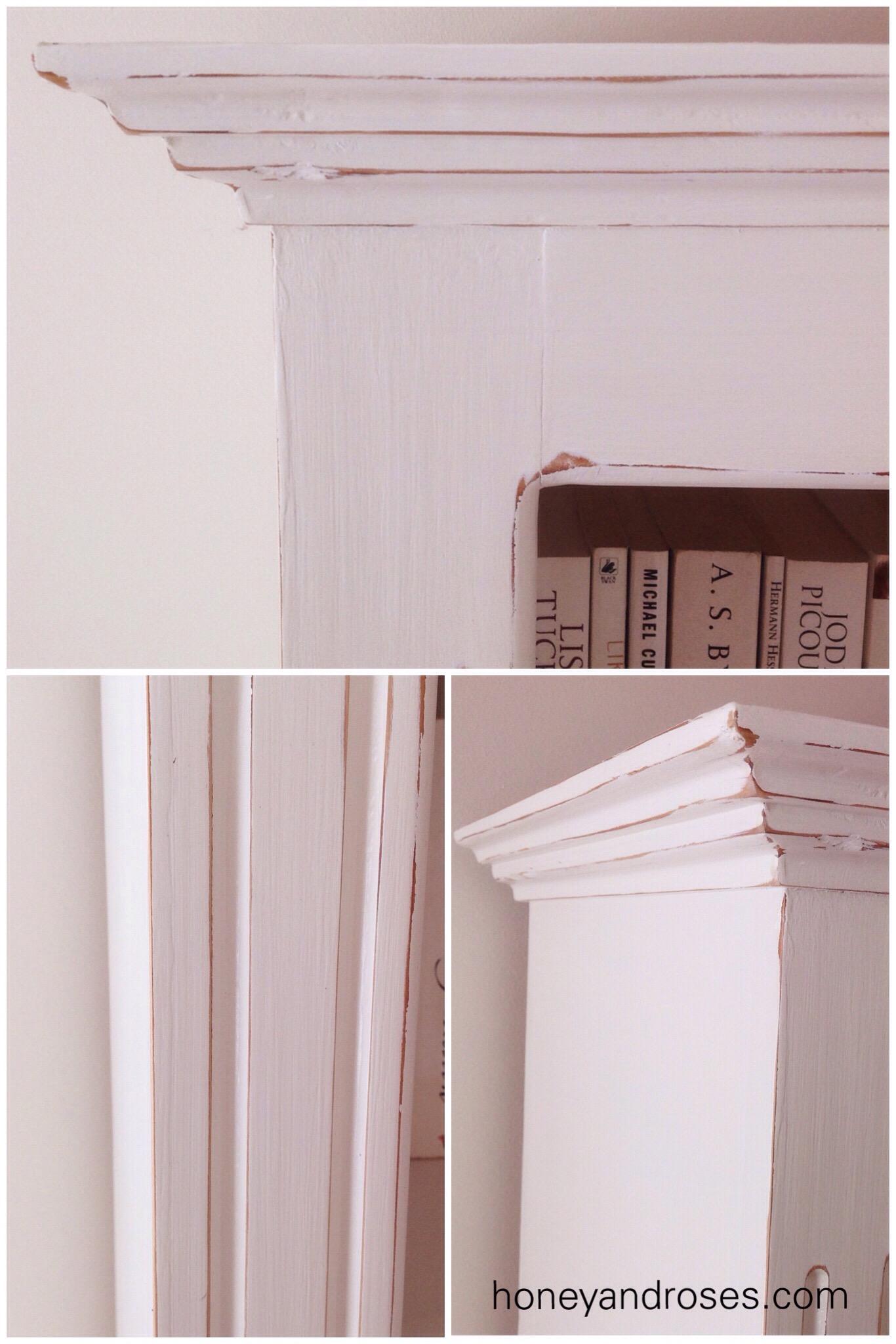 How To Distress Furniture Using Sandpaper Honey Roses