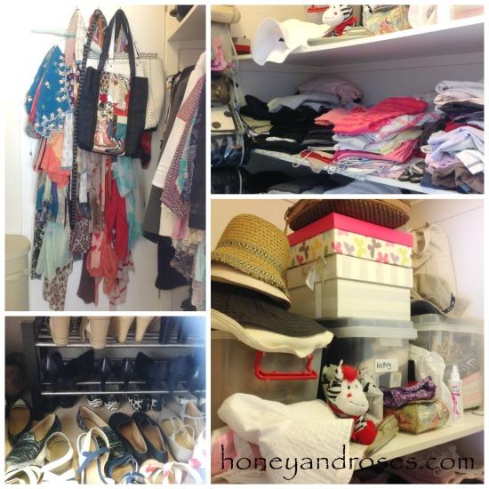 Tip to Organising the Wardrobe ... Declutter Challenge