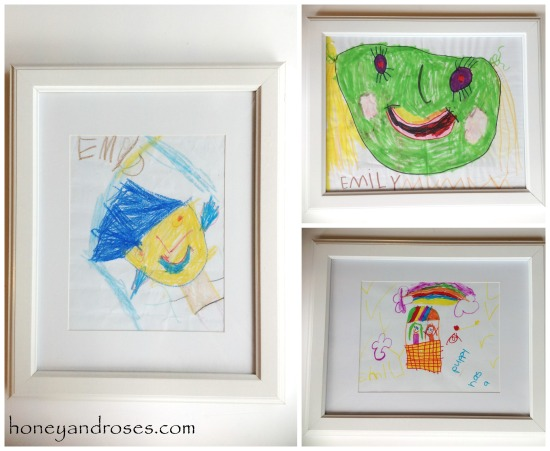 How to Organise Children's Art Work ... Declutter Challenge