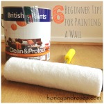 6 Beginners Tips for Painting a Wall