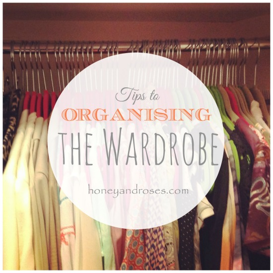 Tips to Organising the Wardrobe ... Declutter Challenge