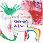 How to Organise Children's Artwork
