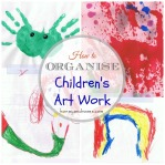 How to Organise Children's Artwork