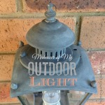 Makeover of My Outdoor Light