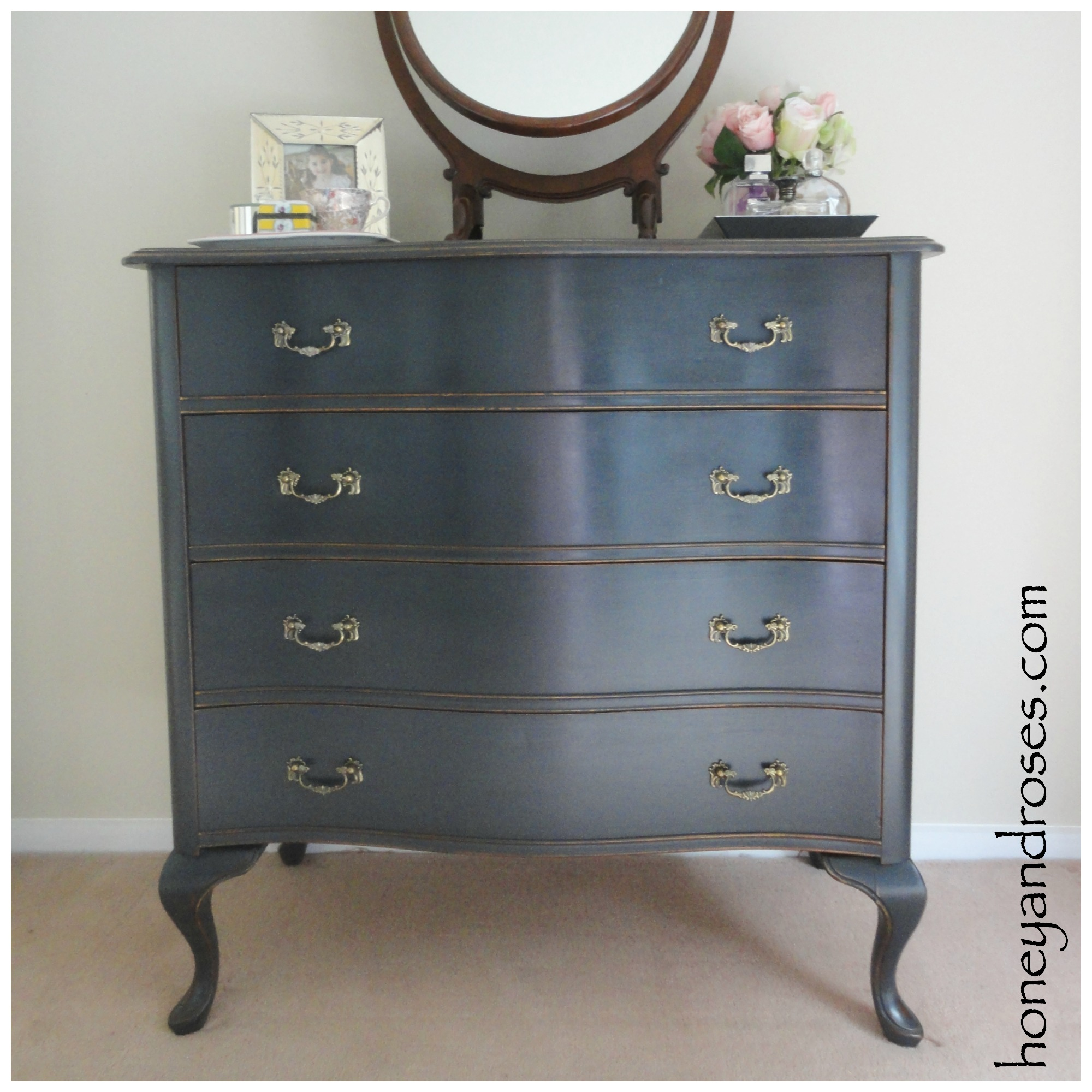 bedroom furniture makeover. Bedroom Chest-of-Drawers Makeover Furniture