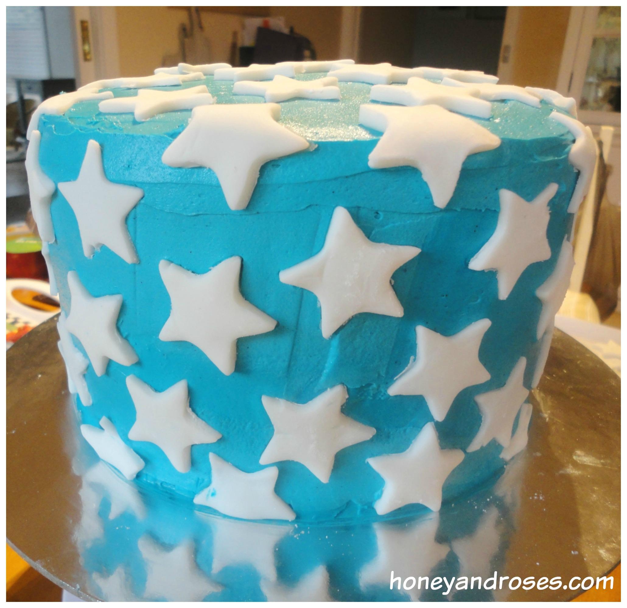How To Make A Wonder Woman Birthday Cake  Honey  Roses-9381