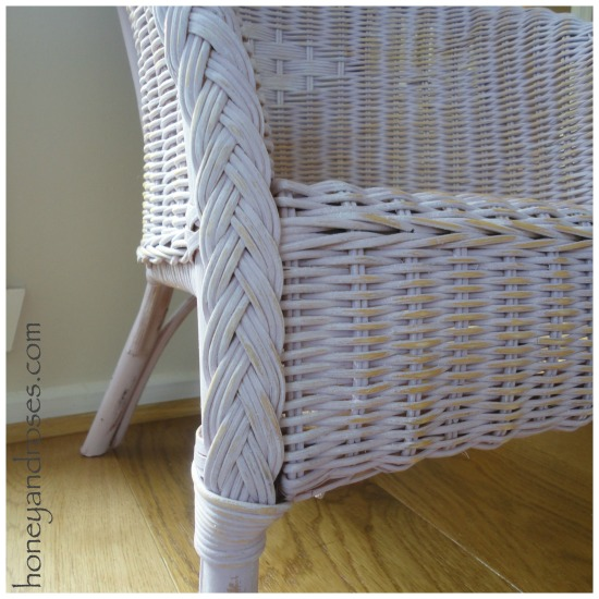 How to Paint a Wicker Chair with Chalk Paint