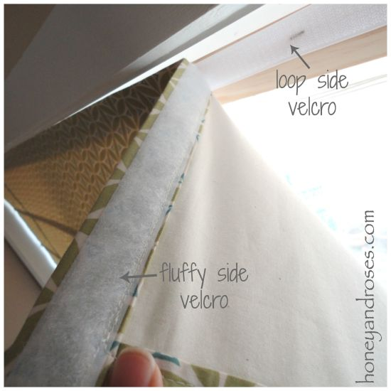 How to Make a DIY Roman Blind | www.honeyandroses.com