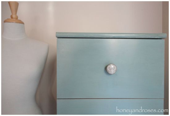 Ikea Hack of My Bedroom Tallboy | honeyandroses.com