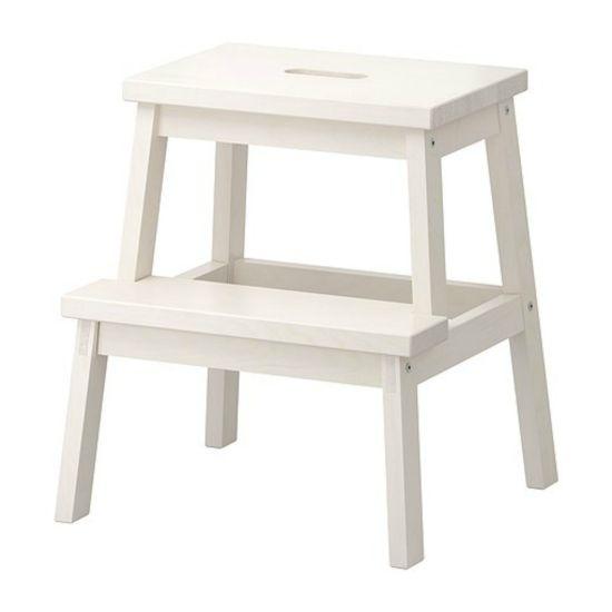 How To Ikea Hack a Step Stool | www.honeyandroses.com