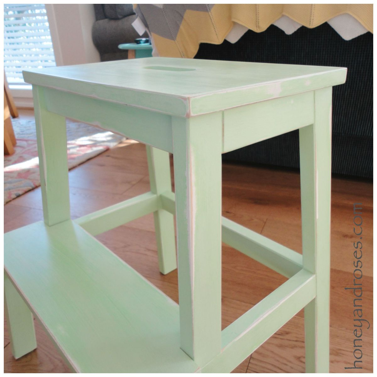 How To Ikea Hack A Step Stool 171 Honey Amp Roses