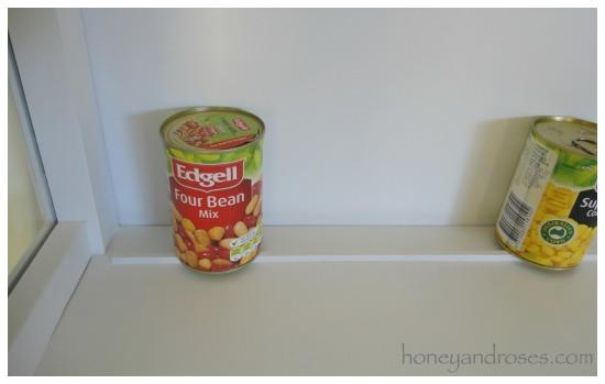 How to Install a Plate Rail on Shelves | www.honeyandroses.com